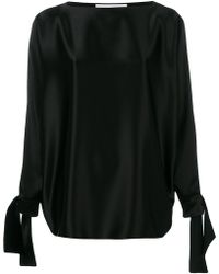 Gianluca Capannolo - Tied Sleeves Blouse - Lyst