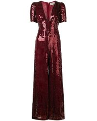 49860c0ad72 Lyst - Ashish Holographic Sequin Jumpsuit in Metallic