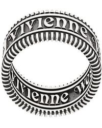 Vivienne Westwood - Zip Design Stackable Ring - Lyst