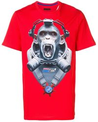 5025a823 Givenchy Camo Monkey Brothers T-shirt in Green for Men - Lyst