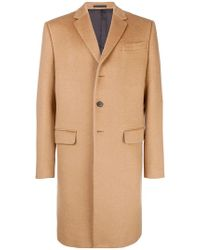 Valentino - Tailored Single-breasted Coat - Lyst