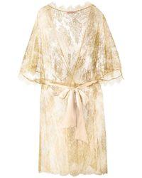 Gilda & Pearl - 'harlow' Kimono Gown - Lyst