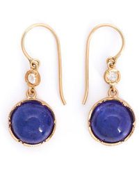 Irene Neuwirth - Tanzanite And Diamond Drop Earrings - Lyst