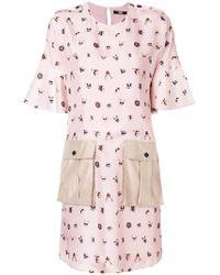 Karl Lagerfeld - Pets-print Shift Dress - Lyst