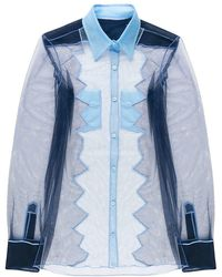 Viktor & Rolf - Sheer Shirt - Lyst