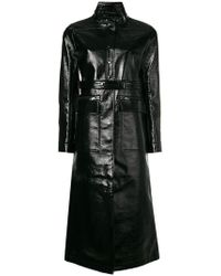 Courreges - Long Varnished Coat - Lyst