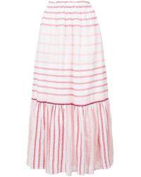 lemlem - Striped Full Skirt - Lyst