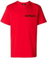 CALVIN KLEIN 205W39NYC - Embroidered Logo T-shirt - Lyst