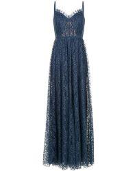 Tadashi Shoji - Flared Fine Lace Gown - Lyst