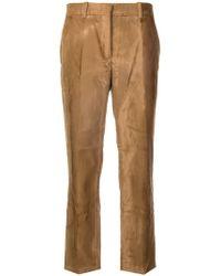 Jil Sander - Pantaloni crop - Lyst