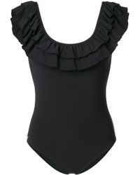 Love Stories - Ruby Ruffle Swimsuit - Lyst