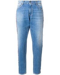 Gaëlle Bonheur - Beaded Stripe Jeans - Lyst