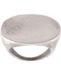Ann Demeulemeester - Flat Ring - Lyst