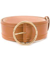Agnona - Round Buckle Belt - Lyst
