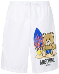 Moschino - Short de bain Toy Bear - Lyst