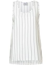 Jason Wu - Striped Vest Top - Lyst