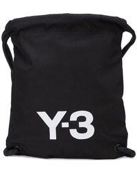 Y-3 - Logo Print Gym Bag - Lyst
