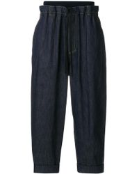 3.1 Phillip Lim - Cropped Tapered Jeans - Lyst