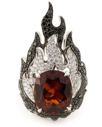 Garrard - 'fire Of London' Ring - Lyst