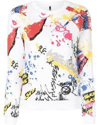 Versus - Printed Sweatshirt - Lyst