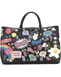 Anya Hindmarch | 'ebury All-over Stickers' Tote | Lyst