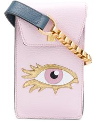 Giancarlo Petriglia - Eye Applique Mini Bag - Lyst