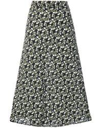Marni - Floral Print Skirt - Lyst