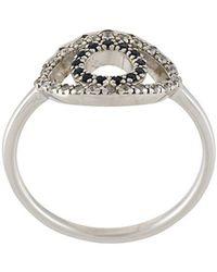 KENZO - Mini Eye Ring - Lyst