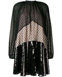 Giamba - Panel Embellished Flared Dress - Lyst