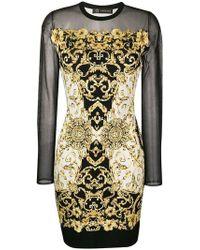 ffe5a3a0c9 Versace - Baroque Print Dress - Lyst