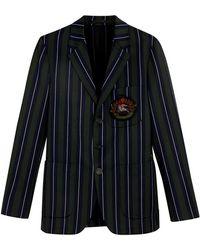 Burberry - Archive Crest Blazer - Lyst