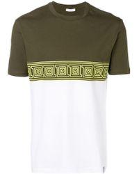 Versace - Geometric Print T-shirt - Lyst