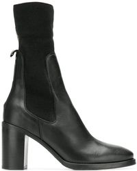 Tommy Hilfiger - Elasticated Mid-calf Boots - Lyst