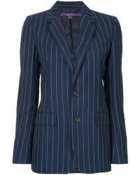 Ralph Lauren Collection - Striped Blazer - Lyst