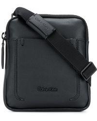 Calvin Klein Jeans - Embossed Logo Messenger Bag - Lyst