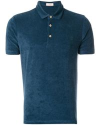 Altea - Terry Cloth Polo Shirt - Lyst