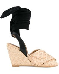 Sonia by Sonia Rykiel - Lace-up Woven Sandals - Lyst