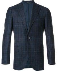 Fashion Clinic - Blazer A Quadretti - Lyst