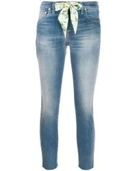Jacob Cohen - Kimberly Cropped Jeans - Lyst