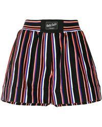 Marcelo Burlon - Striped Shorts - Lyst