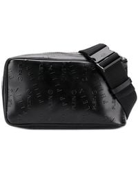 Philipp Plein - Embossed Logo Belt Bag - Lyst