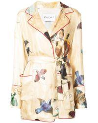 Vionnet - Printed Belted Jacket - Lyst