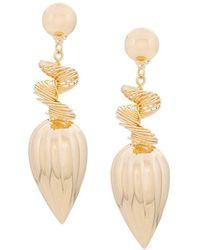 Gold Hanging Tricks Earring Maison Martin Margiela xJ4j4A