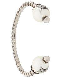 Gucci - Faux Pearl Embellished Bracelet - Lyst