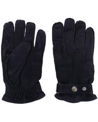 Lardini - Snap Button Gloves - Lyst