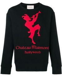 Gucci - Sudadera con estampado Chateau Marmont - Lyst