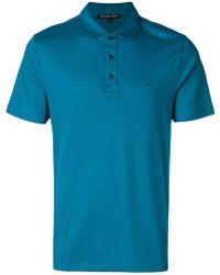 Michael Kors - Logo-embroidered Polo Shirt - Lyst