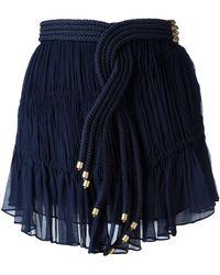 Jay Ahr - Rope Detail Mini Skirt - Lyst