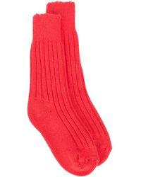The Elder Statesman Cashmere Yosemite Socks