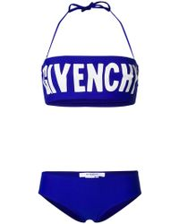 Givenchy - Printed Logo Bikini - Lyst